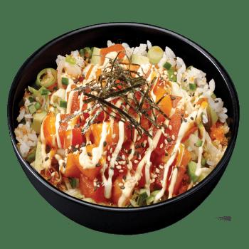 Poke Bowls Salmon & Tuna