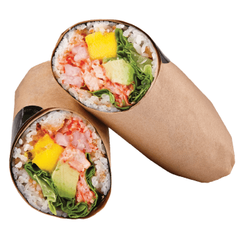 Sushi Burrito Spicy Shrimp & Mango