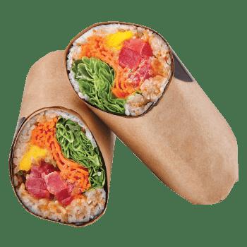 Sushi Burrito Spicy Tuna & Mango