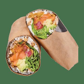 Sushi Burrito Tuna & Salmon