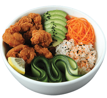 Karaage Chicken Bowl