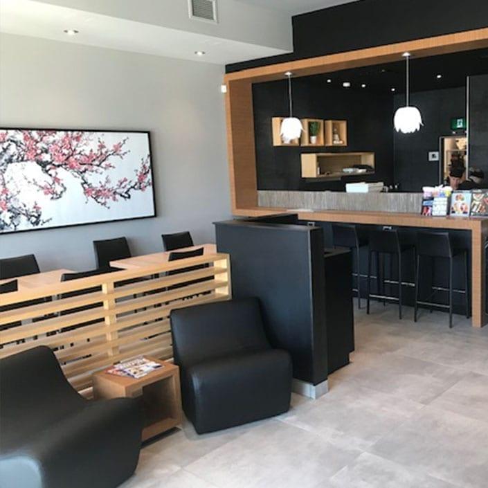 New Sushi Shop Boutique in Saint-Apollinaire