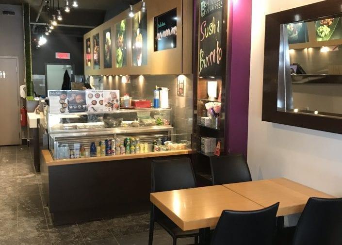 Dining room of Sushi Shop Bernard/Outremont