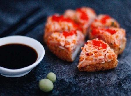 Pizza sushi L'Authentique de Sushi Shop avec baguette