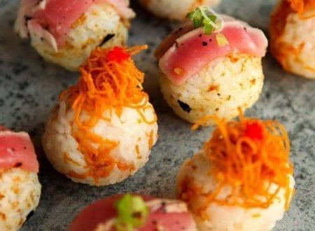 Sushi bombe au thon et végétarienne de Sushi Shop