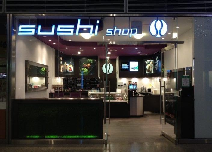 Sushi Shop Restaurant York Street