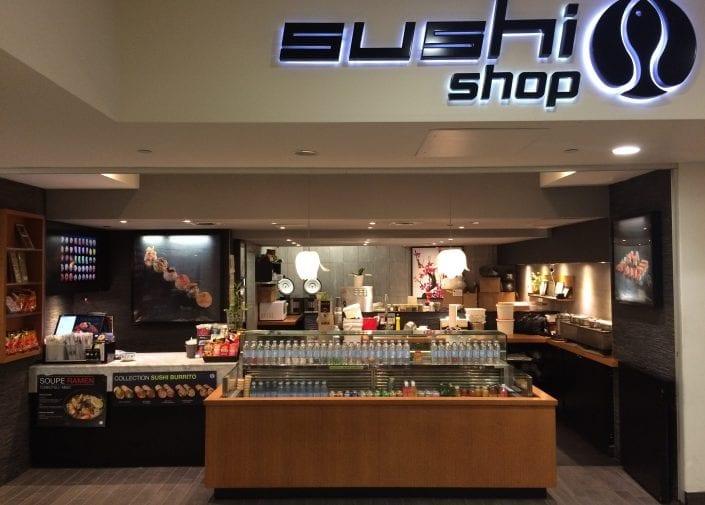 Sushi Shop Restaurant Promenades Cathédrale