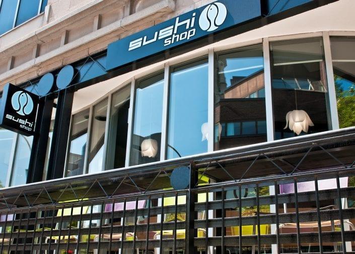Sushi Shop Restaurant Maisonneuve Est