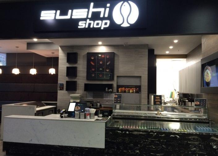 Sushi Shop Restaurant Edmonton City Center
