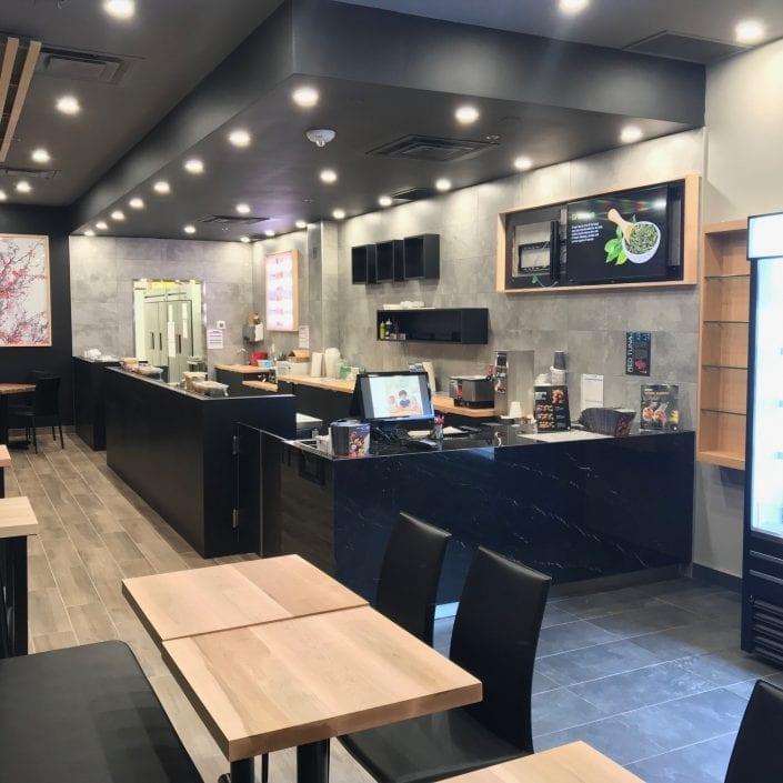 Nouvelle boutique Sushi Shop à l'Université York