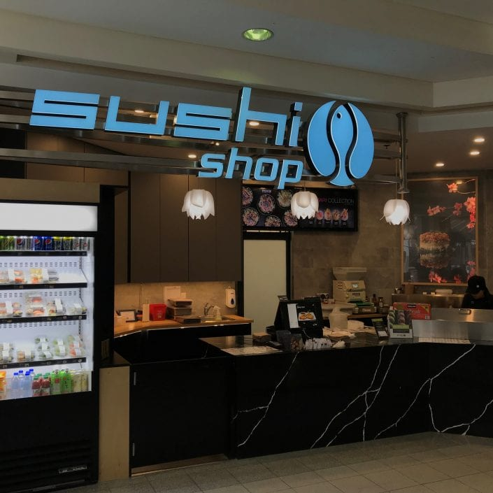New Sushi Shop Boutique at North American Centre