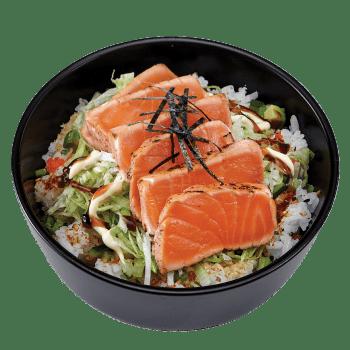 Saumon tataki