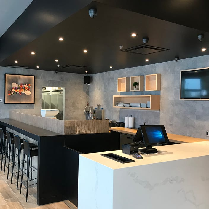 New Sushi Shop Boutique in Taschereau