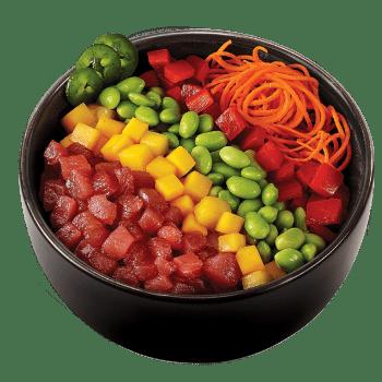 Poke Rainbow Tuna