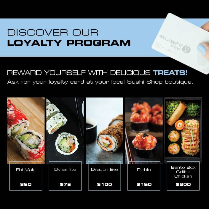 Sushi Shop Loyalty Program