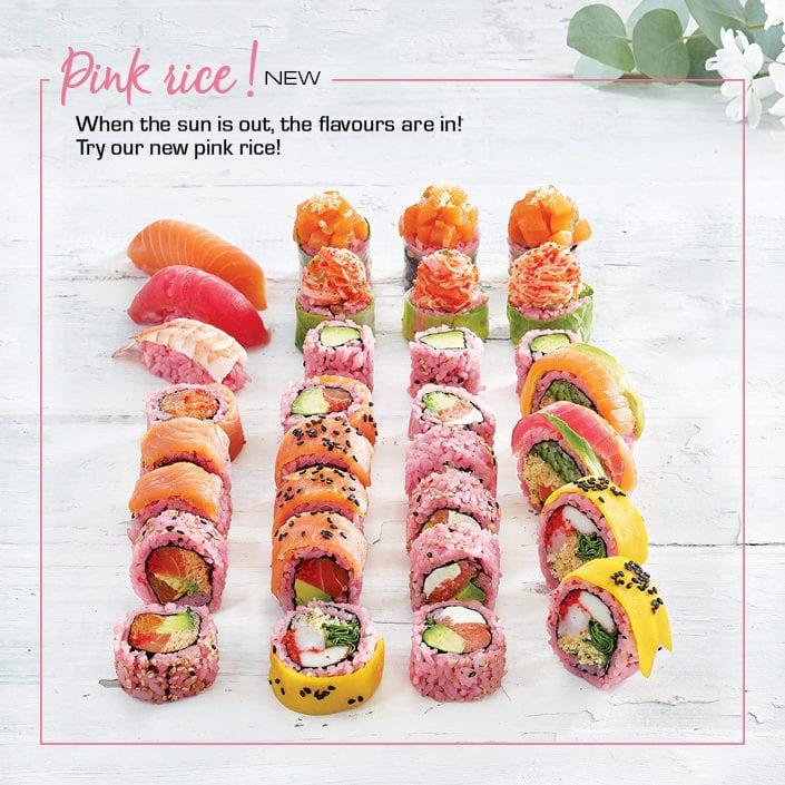 New! Pink Rice!