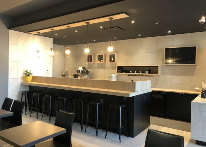Sushi Shop Blainville comptoir interne